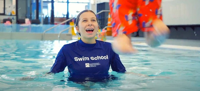 Recruitment drive for swim instructors promotes skills for life image